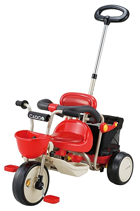 Aidesu cargo tricycle Red [Frustration-Free Packaging (FFP)] (japan import)
