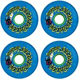 Santa Cruz Skateboards Slimeballs Maggots Blue Skateboard Wheels - 60mm 78a (Set of 4)