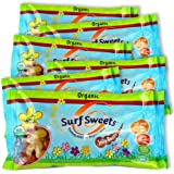 Surf Sweets Organic Spring Mix Jelly Beans, 8 Ounce (Pack of 6)