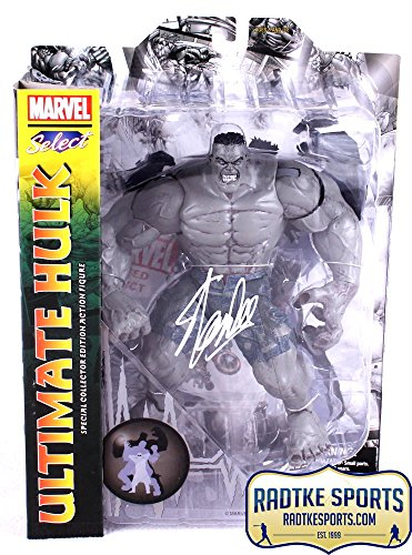 Stan Lee Autographed/Signed Marvel Select Ultimate Hulk In-Box Action Figure