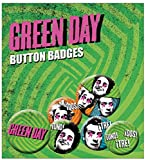 Green Day Uno Dos Tres New Official Badge Pack (4x 25mm & 2x 32mm)