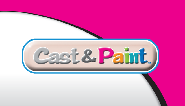 Cast &amp; Paint Girls Logo