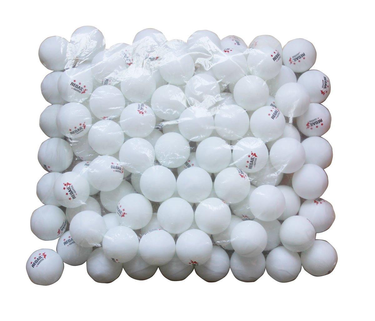 REGAIL 100 White 3-star 40mm Table Tennis Balls Advanced Training Ping Pong Balls yinhe z7 vf table tennis ping pong blade