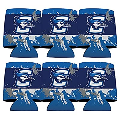 Creighton University Koozie - Set of 6 - Paint Splatter Design
