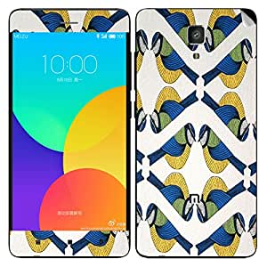 Theskinmantra Symmetric Bird Xiaomi Mi4 mobile skin
