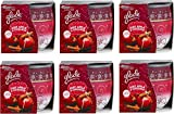 6 x Glade Limited Edition Candle In a Jar Cosy Apple & Cinnamon Scent