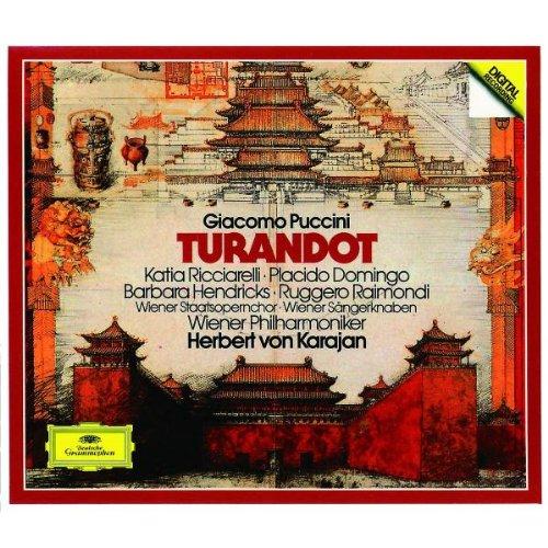 Turandot (Ricciarelli-Domingo-Karajan) - Pucconi - CD