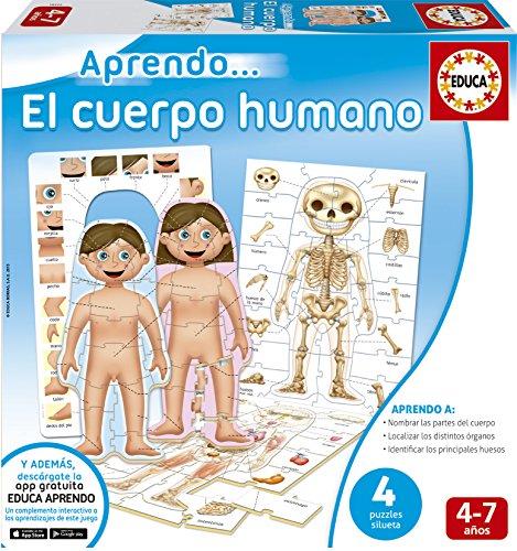 Juegos educativos Educa - Aprendo...El Cuerpo Humano (16472)