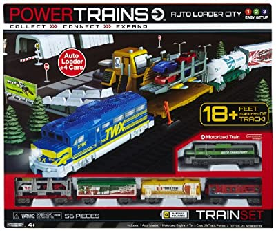 Power City Trains Auto Loader City by POWER CITY TRAINS