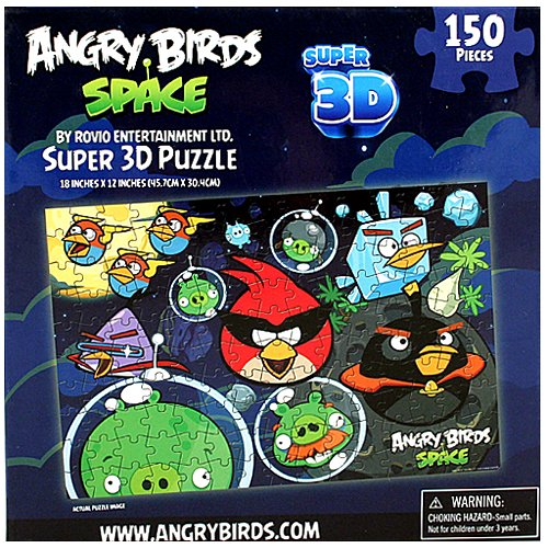 Angry Birds by Rovio Entertainment Angry Birds Space Super 3D Puzzle [150 Pieces] at Sears.com