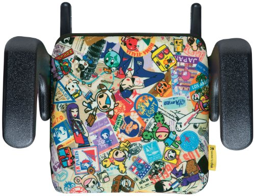 Clek Olli Special Edition Tokidoki Backless Booster Seat, Travel front-127560