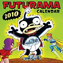 Futurama 2010 Wall Calendar