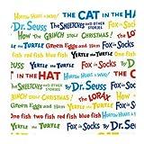 1 YARD Dr. Seuss CELEBRATE SEUSS Celebration ADE-10789-203 Fabric Robert Kaufman Dr Seuss