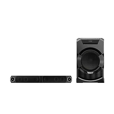 Sony-gT5D party mHC-système de haut-parleurs (2400 w, peu encombrante, son éclairage lED, nFC, bluetooth, uSB (noir)