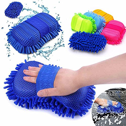 legow-car-wash-gloves-ultrafine-fiber-chenille-car-motorcycle-cleaning-brushes-mitts-color-random