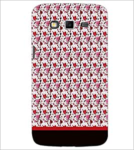 PrintDhaba Heart Pattern D-1890 Back Case Cover for SAMSUNG GALAXY GRAND 2 (Multi-Coloured)