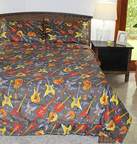 Orange And Yellow Bedding