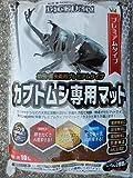 カブトムシ専用マット10L+今ならアトラス幼虫2頭プレゼント付。