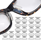 Silicone Eyeglass Nose Pads Adhesive Silicone Anti-Slip Nosepads for Eyeglass Sunglasses 12 Pairs 2.5mm Transparent (Color: Clear, Tamaño: 2.5mm)