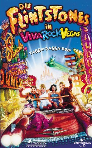 The Flintstones - Die Familie Feuerstein in Viva Rock Vegas [VHS]