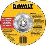DEWALT DW4544 5-Inch by 1/4-Inch High Performance Fast Metal Grinding Wheel, 5/8-11-Inch Arbor