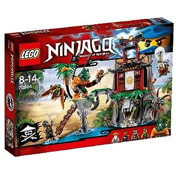 LEGO - 70604 - NINJAGO - Jeu de Construction - L'île de la Veuve du Tigre