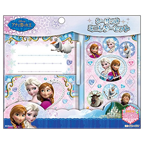 [Disney] Ana and the snow Queen with seal mini set - 1