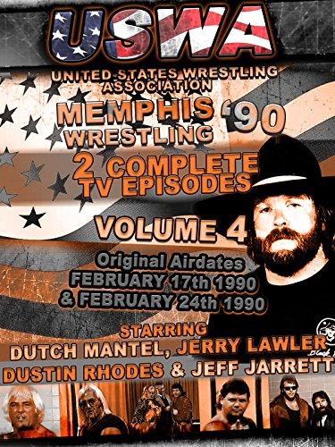 USWA Memphis Wrestling 2 TV Episodes 1990 Vol 4