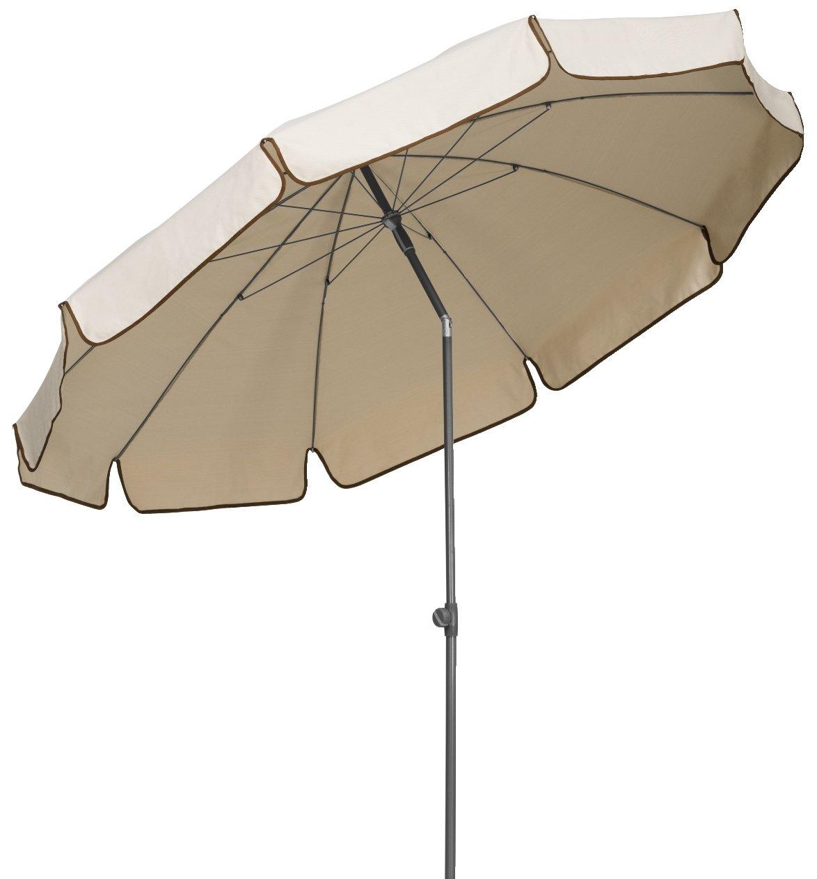Schneider 182-61 Sonnenschirm Libra 250 cm, rund, sand