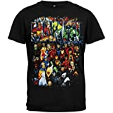 Marvel Team-Ups Men's Team Ups Group Shot T-Shirt, Black, X-Large (Color: Black, Tamaño: X-Large)