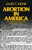 Abortion in America: The Origins and Evolution of National Policy (Galaxy Books)