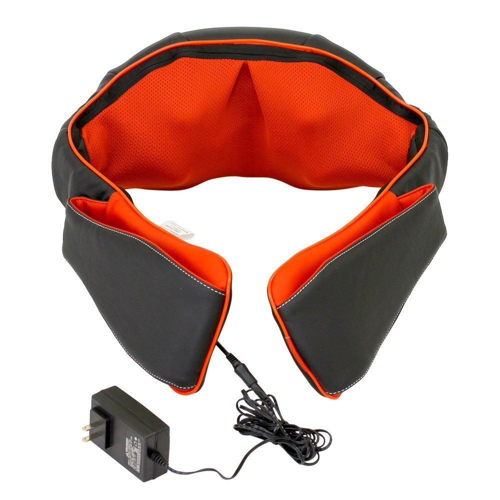 医療機器認可取得 マッサージ器 ネックマッサー も〜む 首・肩・背中・腰 マッサージ機 指圧風もみ玉マッサージ 058356