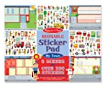 Melissa & Doug Reusable Sticker Pad -...