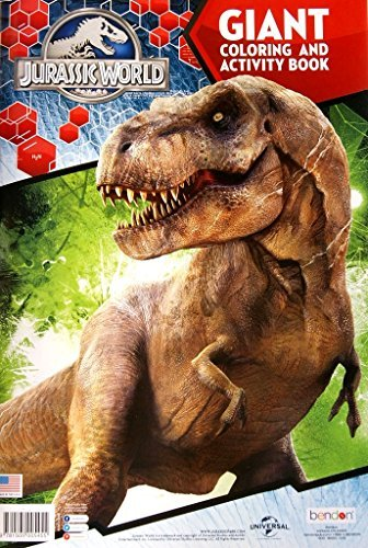 "Universal Jurassic World Giant Coloring and Activity Book - 11"" x 16"""