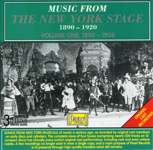 Music from the New York Stage 1890-1920, Vol.