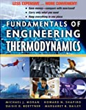 Fundamentals of Engineering Thermodynamics (Binder Ready Version) (0470917687) by Moran, Michael J.