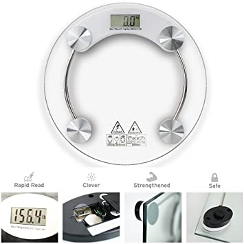 Cozer 8 mm Digital Glass Weighing Scale Personal Health Body Weighting Scale Weight Machine available at Amazon for Rs.699