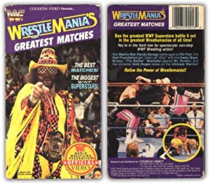 WWF - Wrestlemania's Greatest Matches [VHS]
