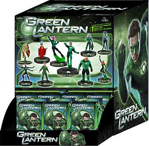 Green Lantern Movie Heroclix Booster Pack 1 RANDOM Single Figure - 1