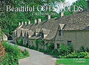 Beautiful Cotswolds Large Wall Calendar 2015