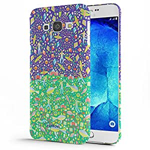 Koveru Designer Protective Back Shell Case Cover for Samsung Galaxy A8 - Life cycle of man