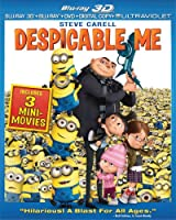 Despicable Me (Blu-ray 3D Combo Pack (Blu-ray 3D + Blu-ray + DVD + Digital Copy + UltraViolet)) from Universal Studios