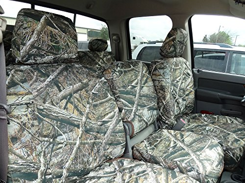 Durafit Seat Covers D1304-Lost C - 2500-3500 Front 40/20/40 with Opening Console Custom in Lost Camo Endura. Complete coverage. (2009 Dodge Ram Camo Seat Covers compare prices)
