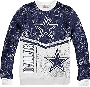 Dallas Cowboys Mitchell & Ness NFL In The Stands Vintage Crew Sweatshirt by Mitchell & Ness