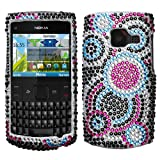Bubble With Full Rhinestones Hard Protector Case Cover For Nokia X2