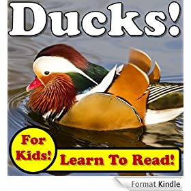 Ducks! Learn About Ducks While Learning To Read - Duck Photos And Facts Make It Easy! (Over 45+ Photos of Ducks) (English Edition)
