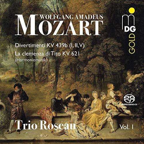 SACD : MOZART / TRIO ROSEAU - Mozart 1
