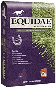 EQUIDAE Alfalfa Plus Horse Feed, 40-Pounds