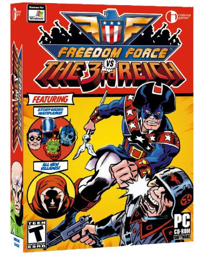 Freedom Force Vs. The Third Reich - Pc front-694590
