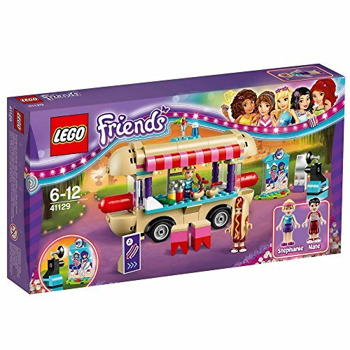 LEGO 41129 Friends Amusement Park Hot Dog Van Construction Set by LEGO